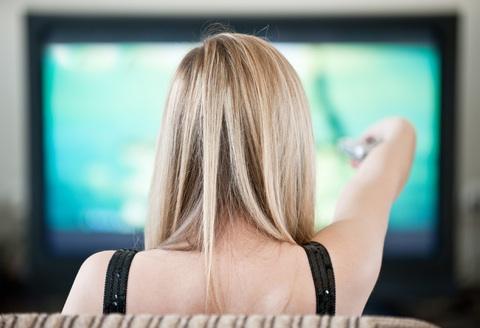 adolescent télé